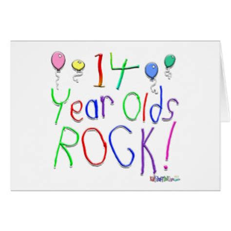 14 year birthday gifts t shirts posters other gift ideas zazzle