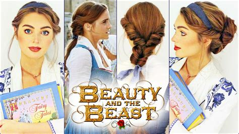 emma watson hairdos easy step by step emma watson s belle hairstyles beauty the beast