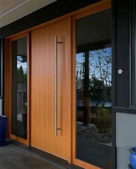 modern wood doors image  ricky porter  mid century
