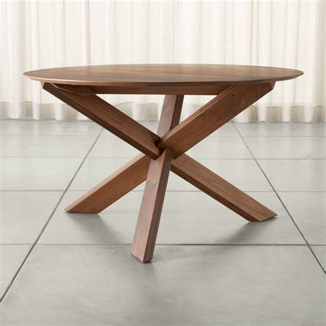 dining room tables crate and barrel apex 51 quot dining table crate and barrel