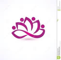 tattoo flower logo lotus flower logo purple lotus flower logo royalty free