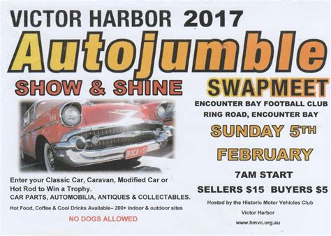 victor harbor autojumble  show  shine shannons club