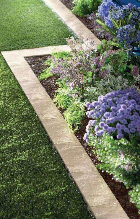 Backyard Edging Best 25 Garden Edging Ideas On Flower Bed