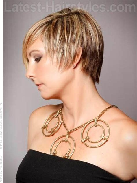 side view of asymmetric hairstyles the gallery for gt asymmetrical short hair back