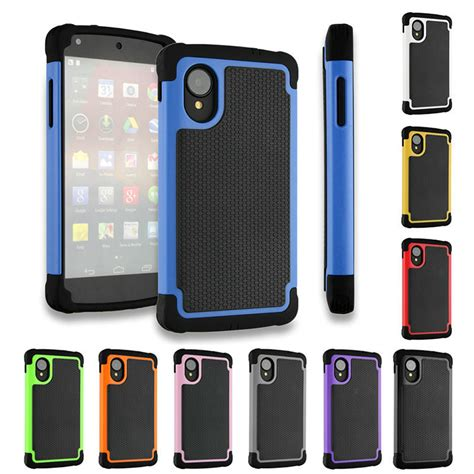 Nexus 6 Shockproof Future Hybrid Soft Casing Cover nexus 5 cover armor 3d hybrid kickstand shockproof silicone phone cases for lg nexus