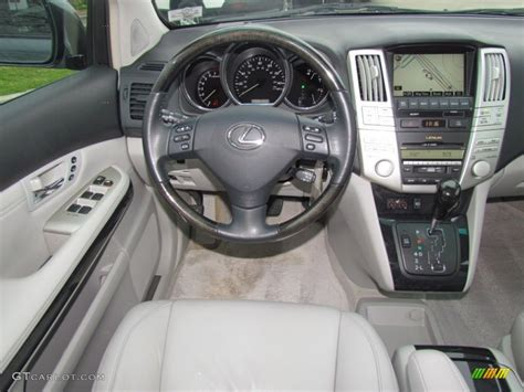 lexus rx 2008 interior 2008 lexus rx 350 light gray dashboard photo 61665883