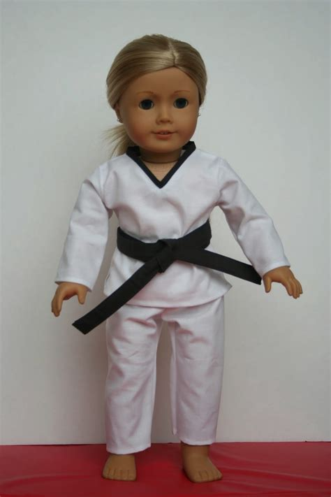 american doll arts and crafts for your american doll taekwondo for