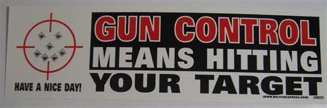 What Does Target Look For In A Background Check Lot Of 3 Stickers Gun Means Hitting Your Target A Day Smiley