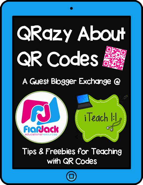 blogger qr code qrazy about qr codes guest blogger exchange and giveaway
