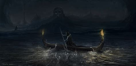 ferry boat river styx the ferryman charon picture the ferryman charon image