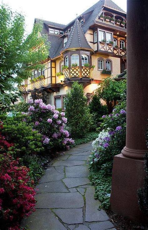 lovely houses lovely home walkway pictures photos and images for