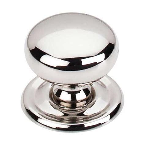 Top Knobs Asbury by Top Knobs Asbury 1 1 4 Inch Diameter Polished Nickel