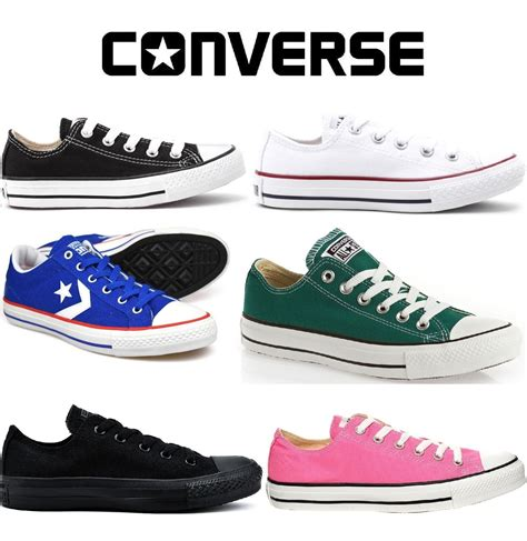 Converse Chuck All Classic Ox Black White converse classic chuck low hi trainer sneaker all