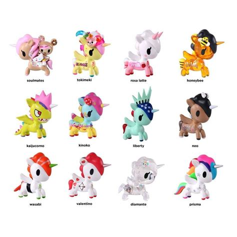 tokidoki unicorno series  unicorn vinyl art collectable