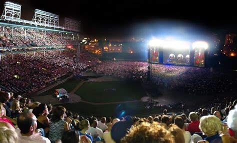 wrigley field concert seating 2017 wrigley field concerts updated with gaga chicago