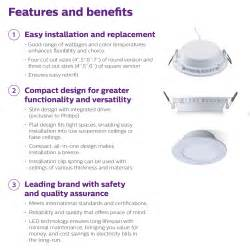 Downlight Philips 5 Inch philips essential smartbright led downlight 5 inch