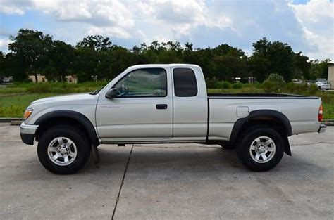 Toyota Used Certified Warranty Buy Used 2004 Toyota Tacoma Sr5 Prerunner Carfax Certified