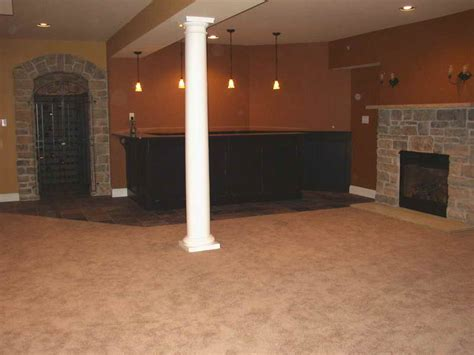 ideas finished basement bar kitchen with fireplace