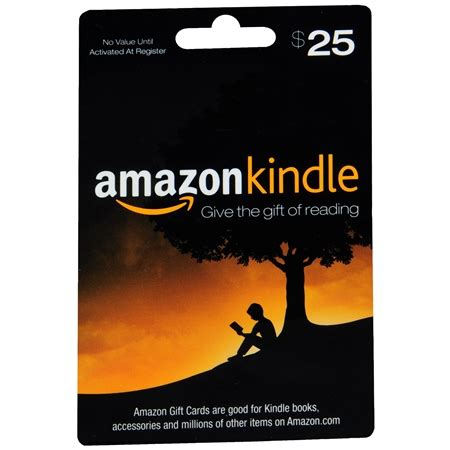 Kindle Book Gift Card - amazon com 25 kindle gift card walgreens