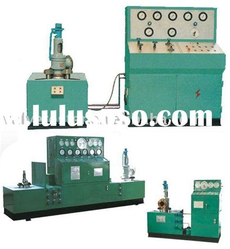 relief valve test bench valve test equipments for sale price china manufacturer