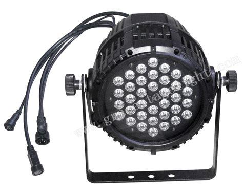 cheap par can lights 36pcs 3w 1w rgb led waterproof par light from grace