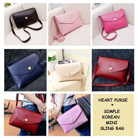 Tas Sling Bag Wanita 4 Warna Slot Colors Modis Dropship Tas Murah Jual Purse Korean Simple Mini Sling Bag Tas