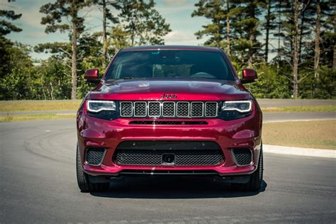 2018 jeep grand cherokee trackhawk price the jeep trackhawk is a killer track suv that s subtle on