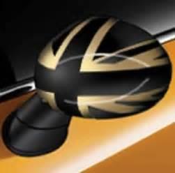 Mini Cooper Mirror Caps Mini Cooper F56 2014 Exterior Mirror Caps Gold