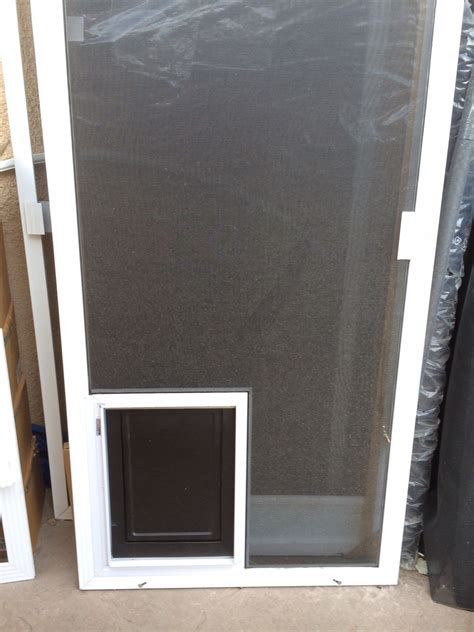 Doggie Door Screen Patio Door Sliding Screen Door With Cat Door Screen Doors