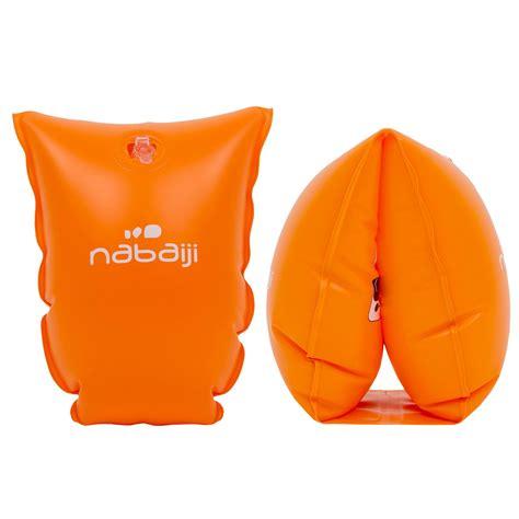 nabaiji zwembandjes voor kinderen oranje decathlonnl