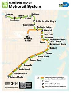 Metromover Miami Map by Miami Dade Metrorail And Metromover Maplets