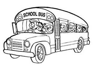 what color are school buses driver bring all student to school coloring pages