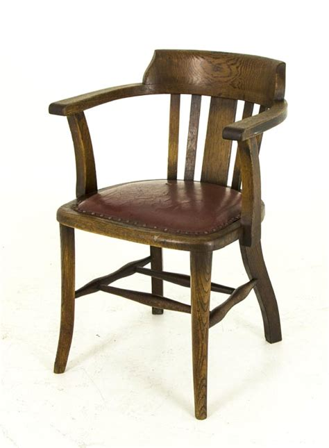 armchair lawyer b455 antique oak arm chair lawyer court room office chair heatherbrae antiques