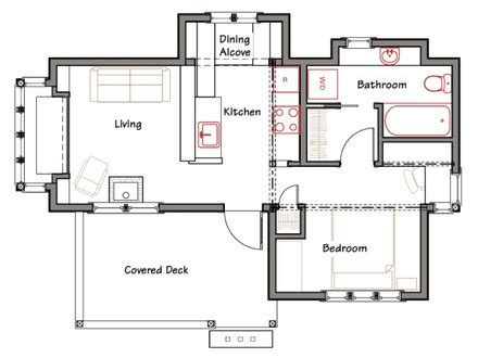 very simple house floor plans cottage style house plans with porches tiny romantic