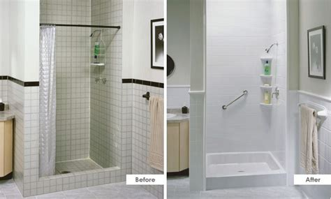 bathtub fitters replacement showers with both function and style from