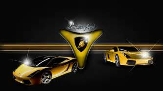 lamborghini logo 3d wallpaper car logo
