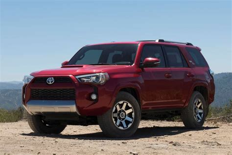 Toyota Four Runner Price 2017 Toyota 4runner Specs Features Price And Release