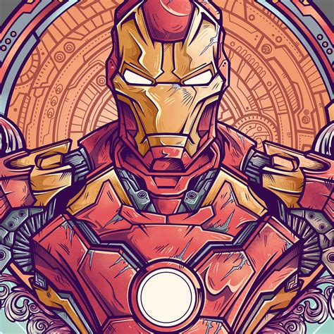imagenes vectoriales en flash ironman vs ultron by juan manuel orozco design ideas