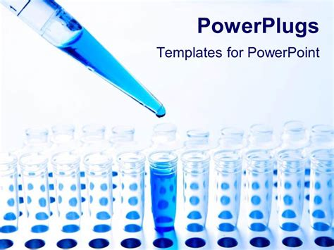 chemistry test tube templates for powerpoint presentations powerpoint template medical science pipette and test
