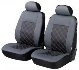 Seat Covers For Outlander Mitsubishi Outlander Seat Covers Grey Black Front Seat