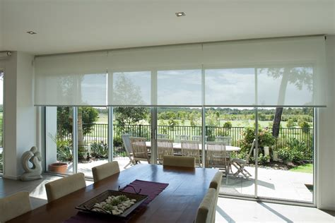 Motorised Awnings Linked Roller Blinds Windsor Blinds