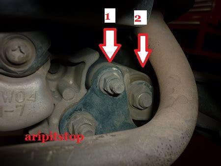Karet Engine Mounting Mio Aripitstop 187 Motor Matic Terasa Goyang Saat Jalan Cek