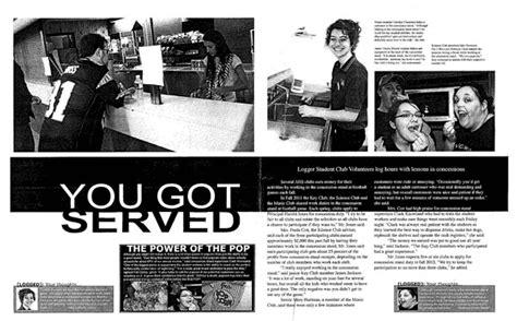 yearbook layout online ihsa journalism 2011 12 winning entries