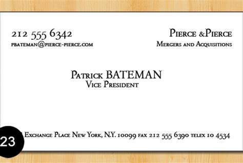 bateman business card template give you batemans business card template fiverr
