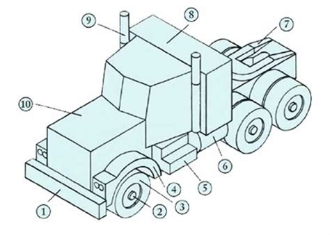 semi tanker trailers diagram semi free engine image for