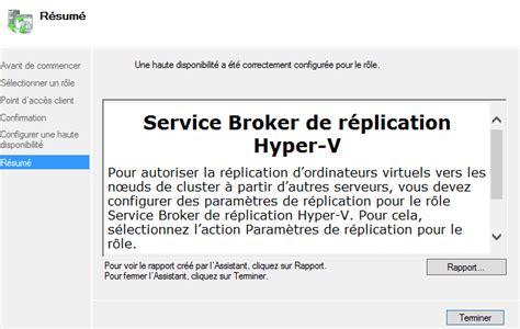 Hyper V Resumes by Seyfallah Virtualization Mise En Place D Un Pra
