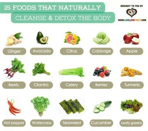 Top 15 Detox Foods by 15 Foods That Naturally Detox Your Health