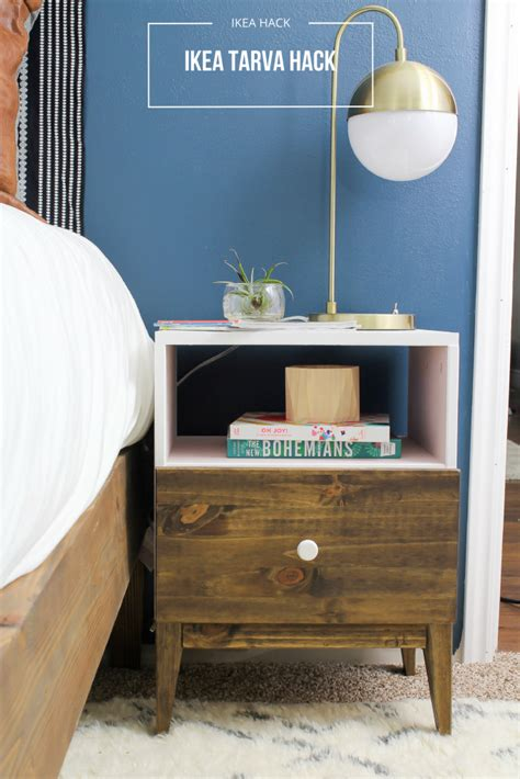 ikea tarva nightstand hack Hawthorne and Main