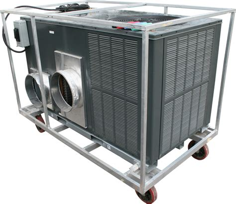 mobile 5 ton air conditioning unit rental events