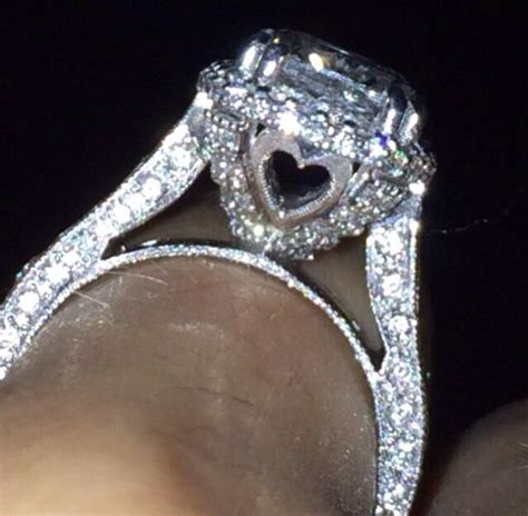 the most beautiful engagement ring happily after